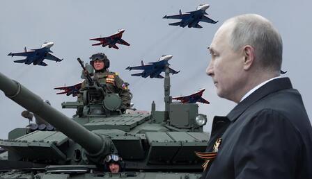 Zafer Günü kutlamalarında Putin'den net mesaj!