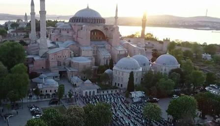İstanbul'da bayram namazı kılındı