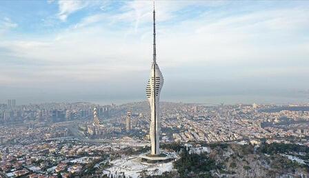 Çamlıca Kulesi'nin resmi açılışı yarın gerçekleştirilecek