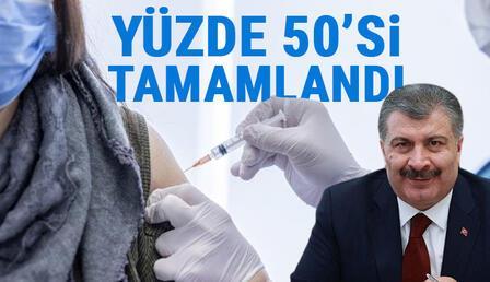 Son dakika haberler: Sağlık Bakanı Fahrettin Koca müthiş gelişmeyi duyurdu!.. Koronavirüs aşılamasında geri sayım..