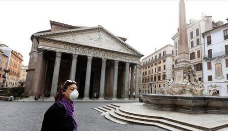 İtalya'da son 24 saatte 1147 yeni koronavirüs vakası kaydedildi