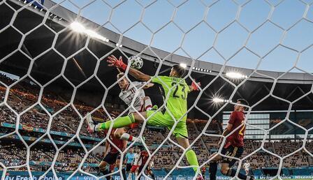 İspanya - Polonya maçından öne çıkan fotoğraflar