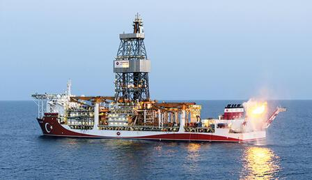 Karadeniz gazı ilk kez yakıldı