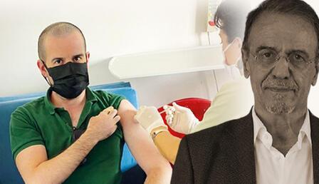 Mehmet Ceyhan fotoğrafla yanıt verdi: 'Oğlu aşı olmuyor' tezinin sonu!