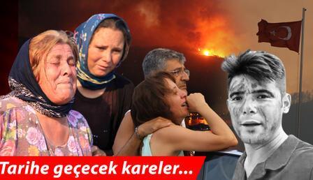 Son dakika... Türkiye orman yangınlarıyla boğuşuyor! Tarihe geçecek kareler...