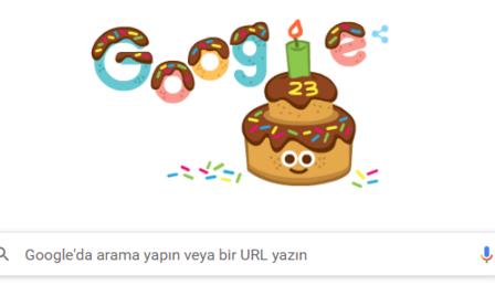 Google'ın 23 yaş doğum günü doodle oldu! Google ne zaman, hangi tarihte, kim tarafından kuruldu?