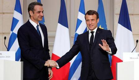 Son dakika... Macron açıkladı: Yunanistan, Fransa'dan 3 fırkateyn alıyor