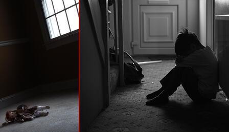 Dehşet evi: Üç çocuk yanı başlarında iskeletle bulundu!