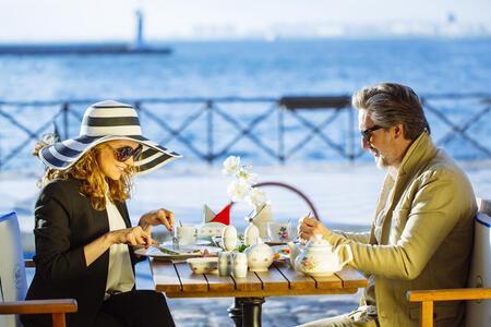 Güne İzmir'in en hoş mekânlarında güzel bir kahvaltıyla başlayın