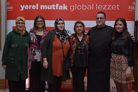 Kadının emeğine adanmış bir proje: Yerel Mutfak Global Lezzet