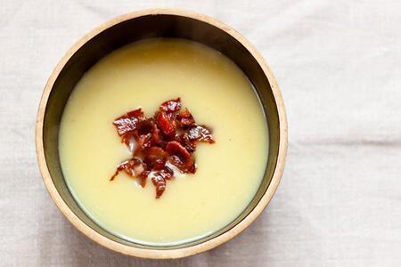 Pastırmalı patates çorbası tarifi