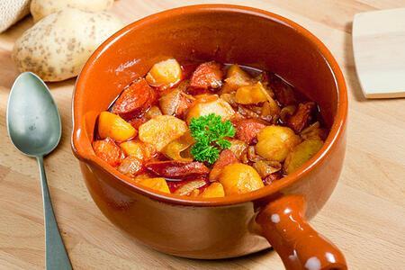 Sucuklu patates yemeği tarifi