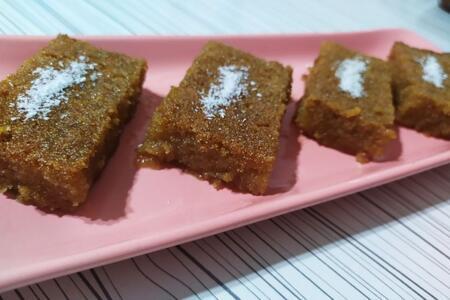 Az malzeme ile yağsız, unsuz enfes bir tatlı: Şam tatlısı