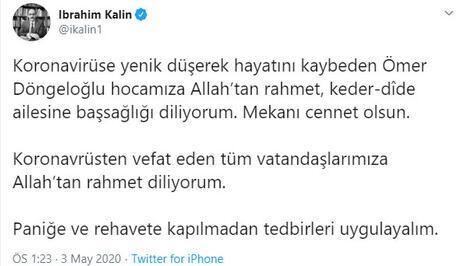 Son dakika haberi: Ömer Döngeloğlundan üzücü haber geldi Koronavirüsten hayatını kaybetti