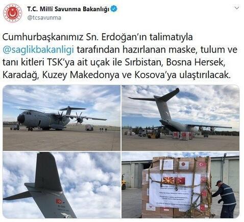 Türkiye'den 5 ülkeye daha yardım malzemesi - Son Dakika Haberleri