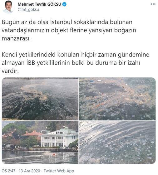 Son dakika… İstanbul Boğazı'nda tepki çeken görüntüler