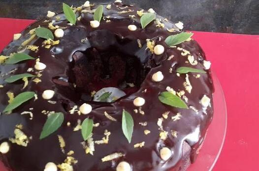 Vişne sulu kakaolu kek tarifi