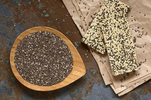 Yulaflı ve chia tohumlu bar tarifi
