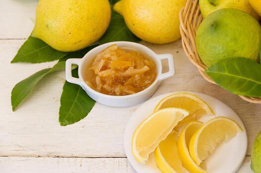 Zencefilli limon marmelatı tarifi