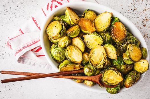 Zeytinyağlı brokoli ve Brüksel lahanası tarifi