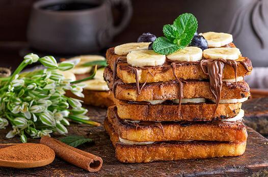 Muzlu çikolatalı tost tarifi