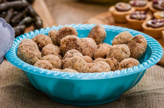 Çörek otlu misket kurabiye tarifi