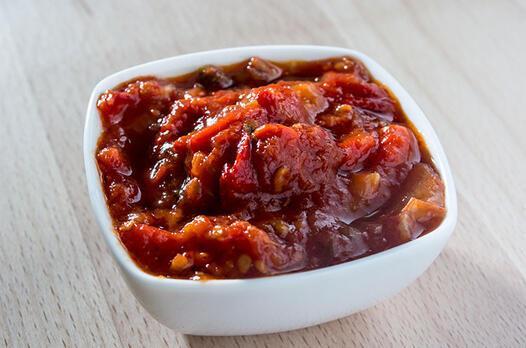 Ajvar (Patlıcanlı sos) tarifi