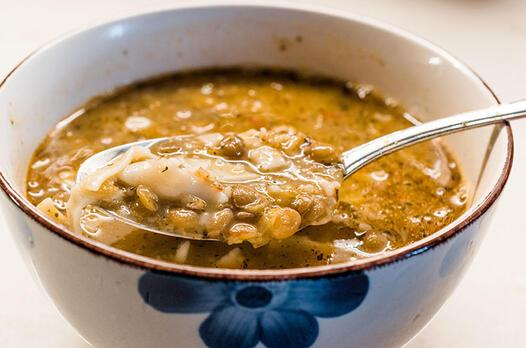 Tatar hamuru çorbası tarifi