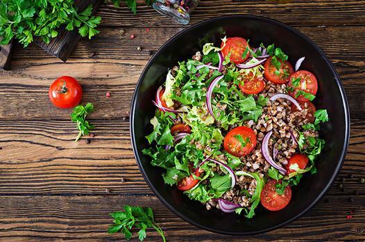 Greçka (Karabuğday) salatası tarifi