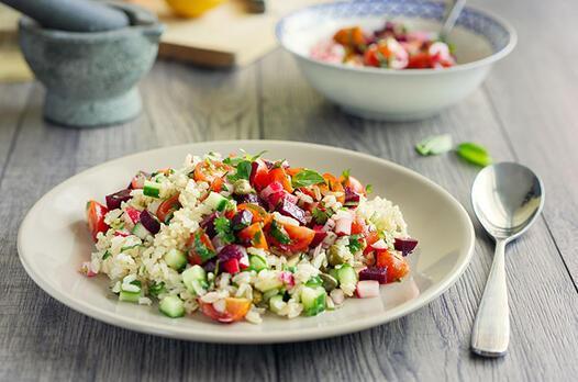 Pilavdan pirinç salatası tarifi