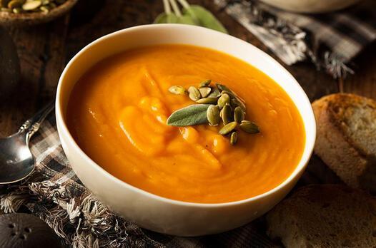 Kremasız balkabağı çorbası tarifi