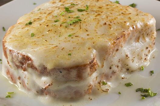Peynirli mantarlı ekmek suflesi tarifi