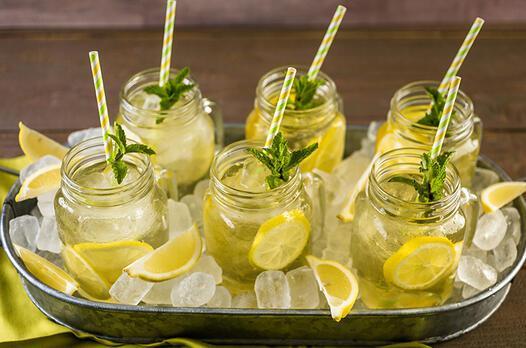 Limonlu soğuk yeşil çay tarifi
