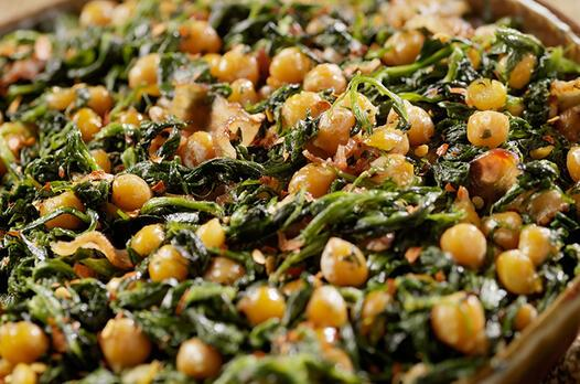 Nohutlu semizotu yemeği tarifi