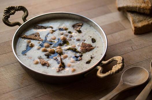 Gaziantep usulü yuvalama çorbası