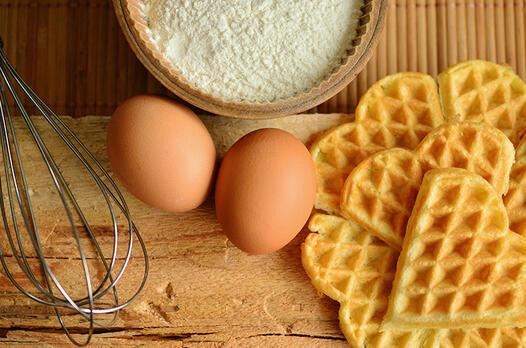 Yumurtalı waffle tarifi