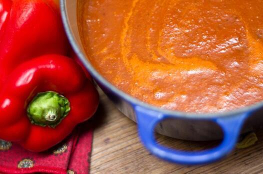 Közlenmiş biber çorbası tarifi