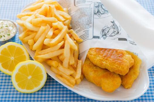 Fish and chips tarifi