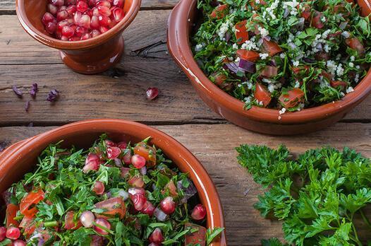Tabbouleh (Maydanoz salatası) tarifi