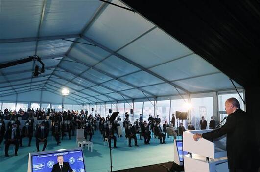 Son dakika haberi: Cumhurbaşkanı Erdoğan yeni müjdeyi açıkladı 135 milyar metreküplük yeni doğalgaz keşfi