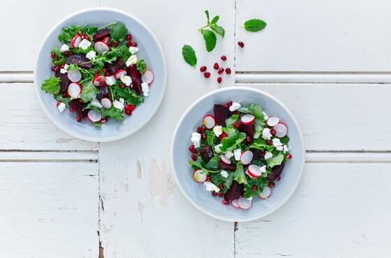 Turpun en güzel hali: Turplu yeşil salata