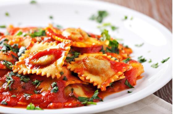 İtalyan mutfağının geleneksel lezzetlerinden 'Peynirli ravioli'