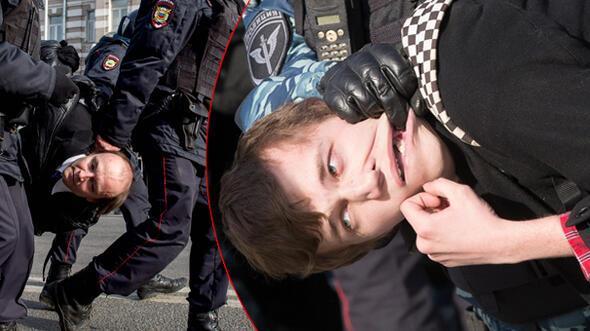 Rusyada ortalık karıştı... 500den fazla gözaltı var