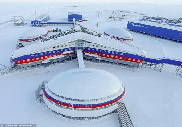 İşte Rusyanın kutuptaki gizli üssü