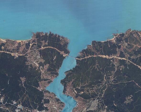 İlk yerli uydu İstanbulu havadan görüntüledi