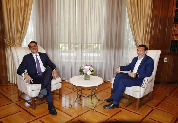 Miçotakis, başbakanlık için yemin etti