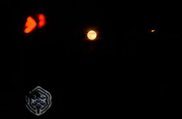 Parçalı Ay Tutulması böyle görüntülendi