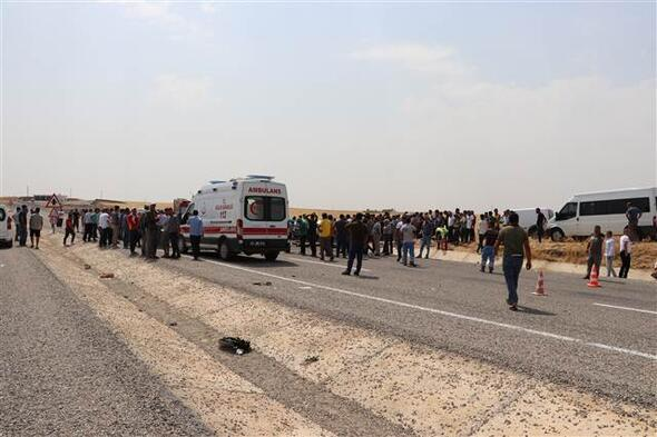Diyarbakırda feci kaza
