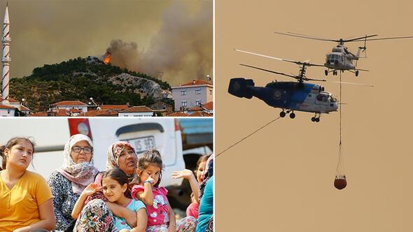 İzmirde korkutan görüntü