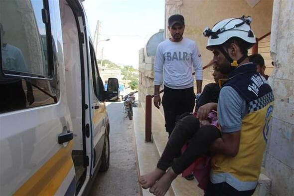 İdlibe hava saldırıları: 5 ölü, 10 yaralı